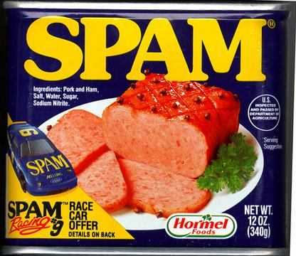 SPAM - The Recession Gourmet Meat